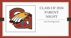 Class of 2024 Parent Night