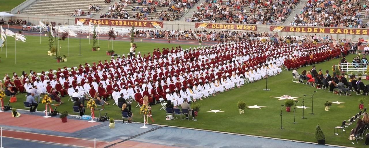 2021 Grad Ceremony view 2